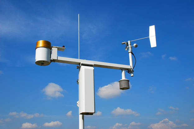 ExactET Climate Controlled Water Management Solution in Canada photo of weather station