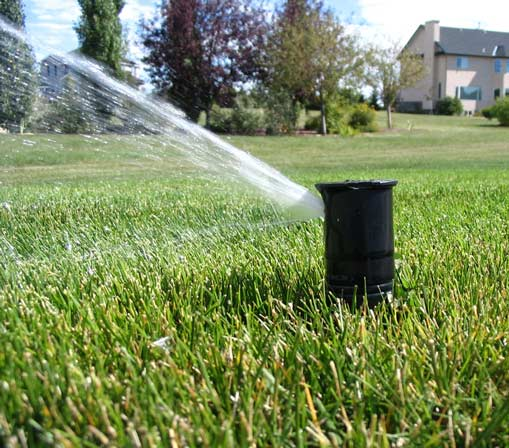 ExactET Climate Controlled Water Management Solution in Canada photo of spray head