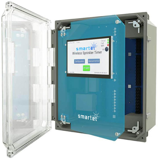 ExactET Climate Controlled Water Management Solution in Canada photo of SmartET controller